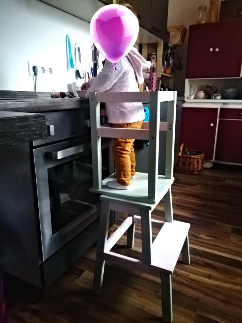 DIY Lernturm fertiggestellt in Action