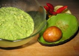 Avocado Mousse Nahaufnahme