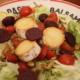 Salat mit warmem Ziegenkäse