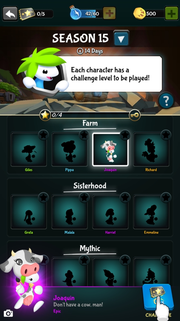 Charaktere-Jeder-gesammelte-Charakter-hat-ein-eigenes-extra-schweres-Level