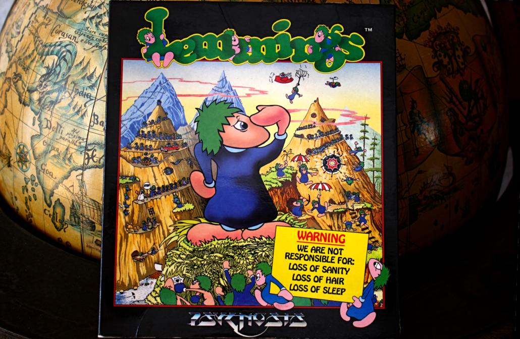 Das originale Lemmings Spiel für DOS