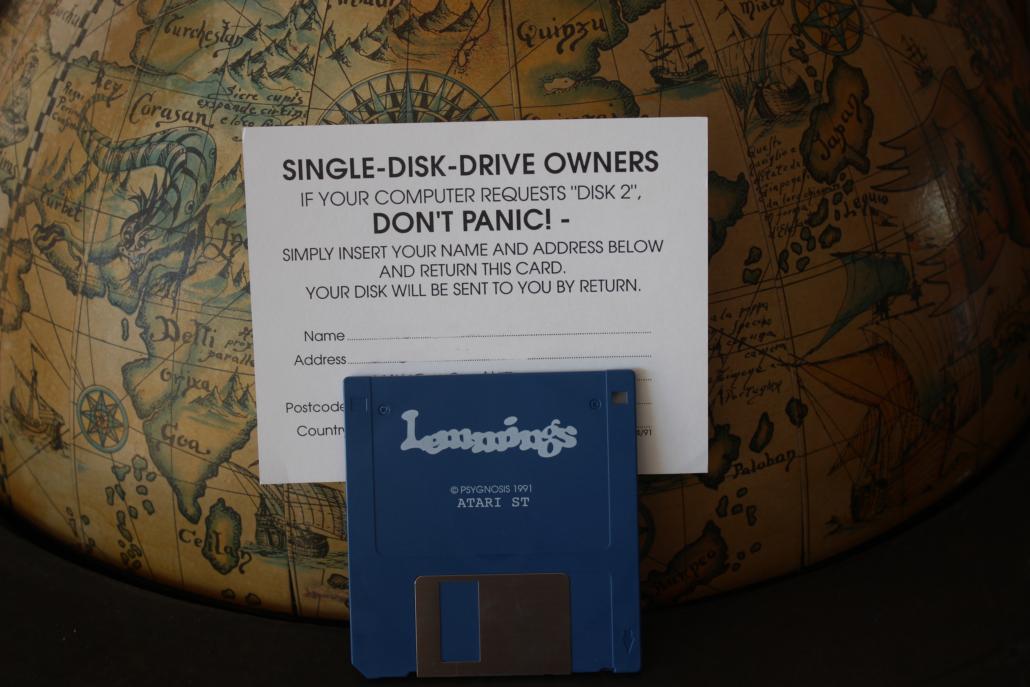 Die gute alte Floppy Disc