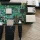 Der angeschlossene Raspberry Pi
