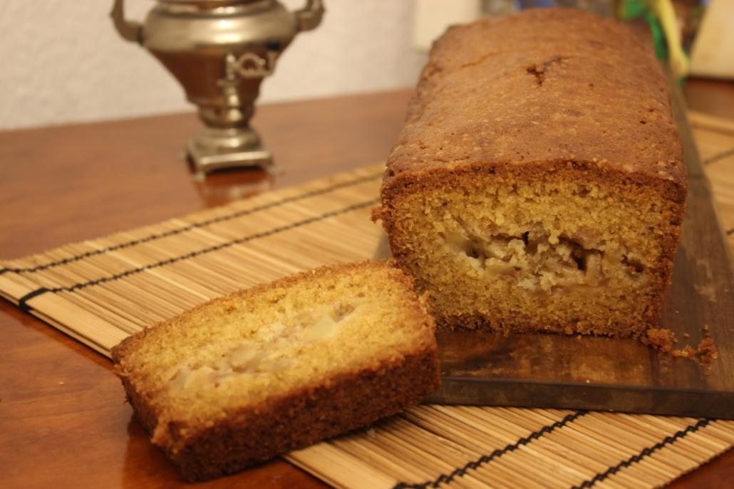 Gefüllter Apfelkuchen, frisch aus dem Ofen für eure Tea Time