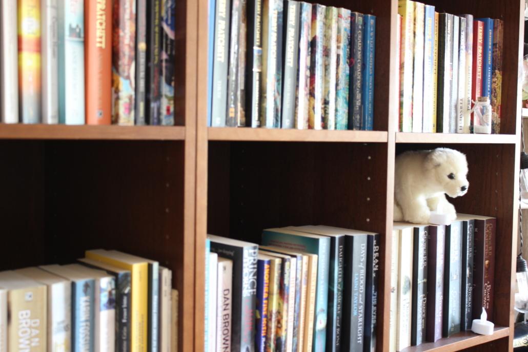 Buchreihe in meinem Regal