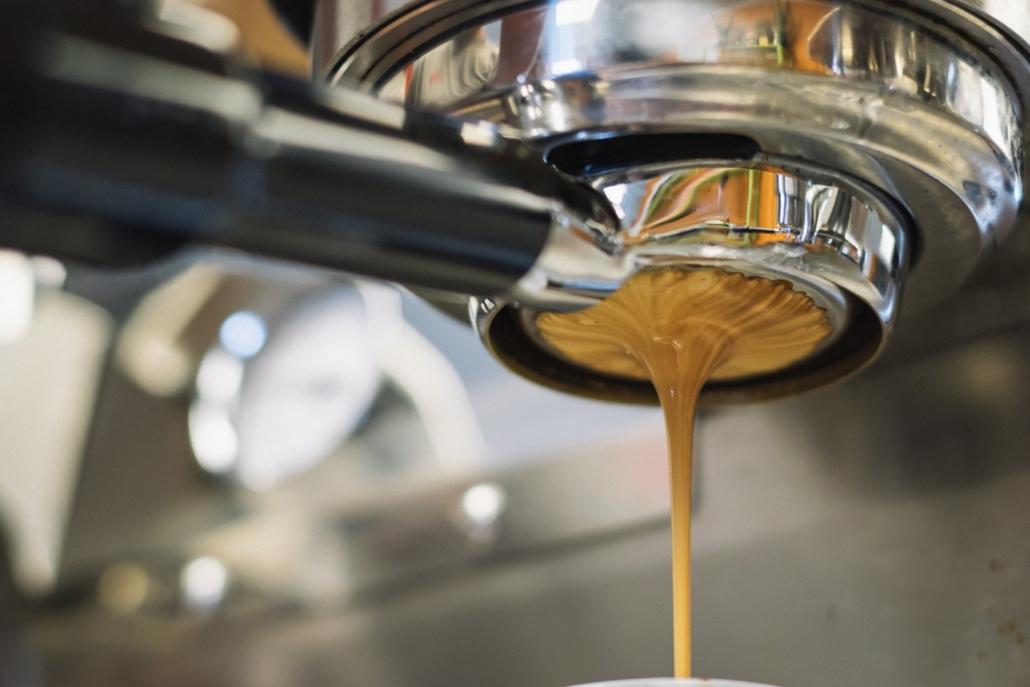Der Kaffee läuft